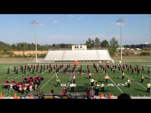 Brandon High School Band at the MS State Band Festival