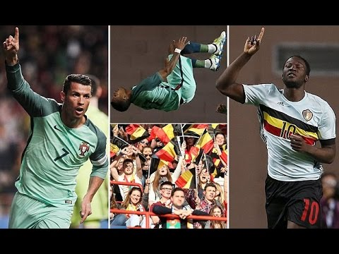 Portugal 2-1 Belgium full highlights | Friendly | 2016/03/29