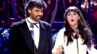 "Andrea Bocelli & Sarah Brightman ""Time to Say Goodbye"" 1997 Video stereo widescreen1"