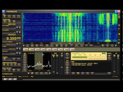 Firedrake turns into CNR1 echo jammer against Radio Free Asia 9355 kHz AM 06-05-2013 2040z