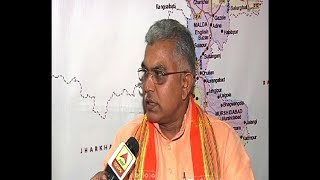 Dilip Ghosh attacked CM about various issue