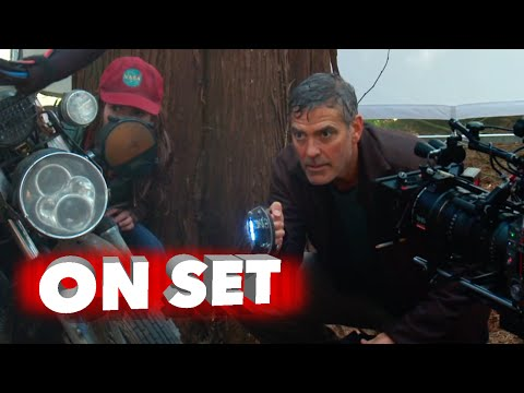 Tomorrowland: Full Behind the Scenes Movie Broll - George Clooney, Britt Robertson