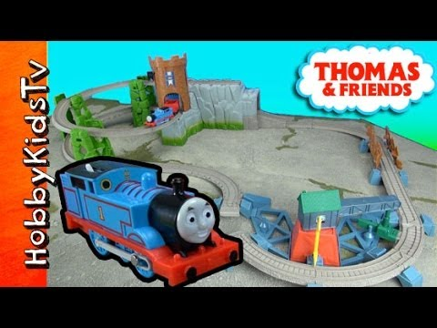 Thomas the Train: TrackMaster Castle Quest Set [Box Open] [Toy Review] by HobbykidsTV