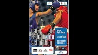 Campionati Italiani Schoolboy 2018 - Semifinali