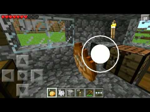 Minecraft Pocket Edition 0.8.1 (Realms) Livestream Part 1
