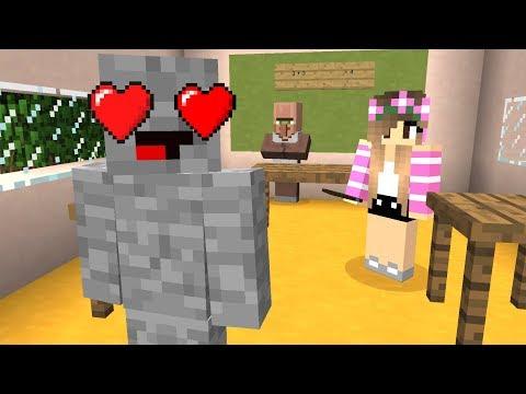 Wir gehen auf die selbe Schule. 💕 Minecraft Love
