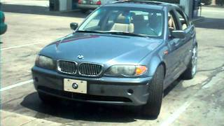 BMW 325i on 22 inch DUB Esinem Floaters