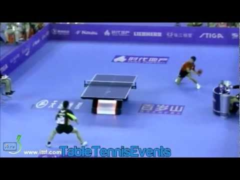 Zhang Jike Vs Chen Chien-An: Final [World Team Classic 2013]