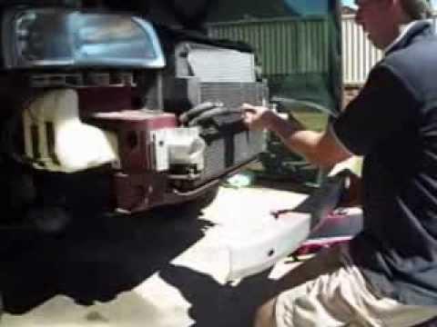 Condenser Radiator Radiator Condenser Removal
