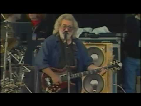 "Grateful Dead perform Touch of Grey at the Bill Graham Memorial Concert ""Laughter, Love, and Music"" in San Francisco, CA."