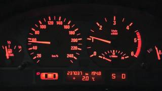 Tuned BMW E46 330xd - launch before and after