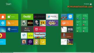 Windows 8 Metro Style Start Button First Look
