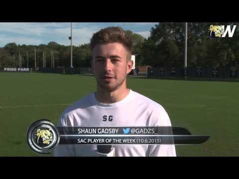 2015 Wingate Men's Soccer - Practice report w/ senior Shaun Gadsby (10/5/15)