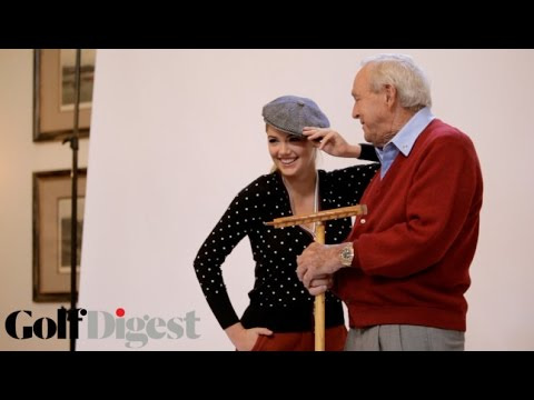 Kate Upton & Arnold Palmer Welcome You Back to Small Ball Pt. 3: Arnie