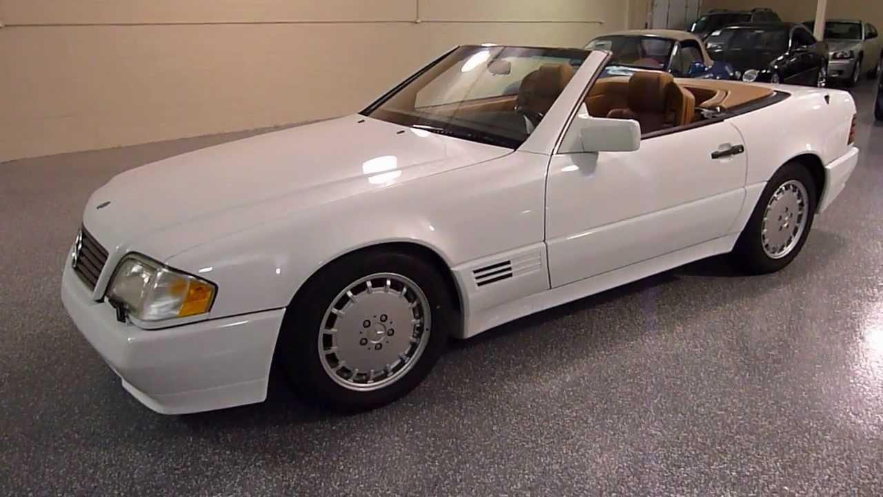 1992 Mercedes-benz 500sl 2dr Roadster Sold   2179