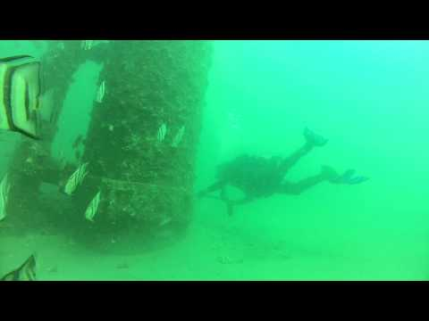 Scuba Diving Mustang Island Oil Rigs