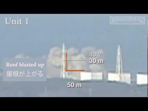Fukushima Explosion Measurements 福島第一 video