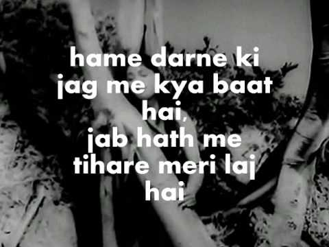Zara Saamne To Aao Chaliye-Karaoke & Lyrics