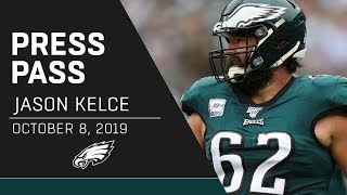 "Jason Kelce on Vikings Defense: ""They Just Got Great Players"" 