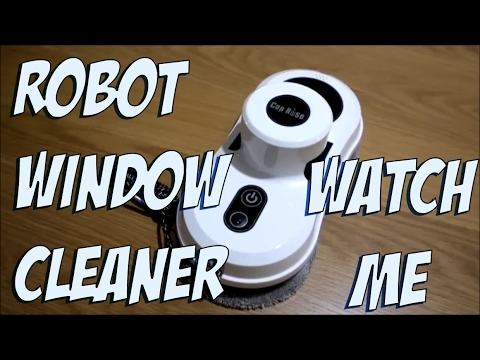 Robot Window Cleaner Review - Cop Rose Robot Window Cleaner