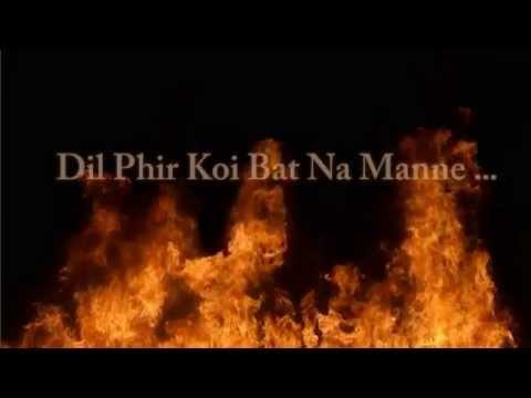 BEWAFA- Bilal saeed & Irfan nazar-Lyrics video.HD