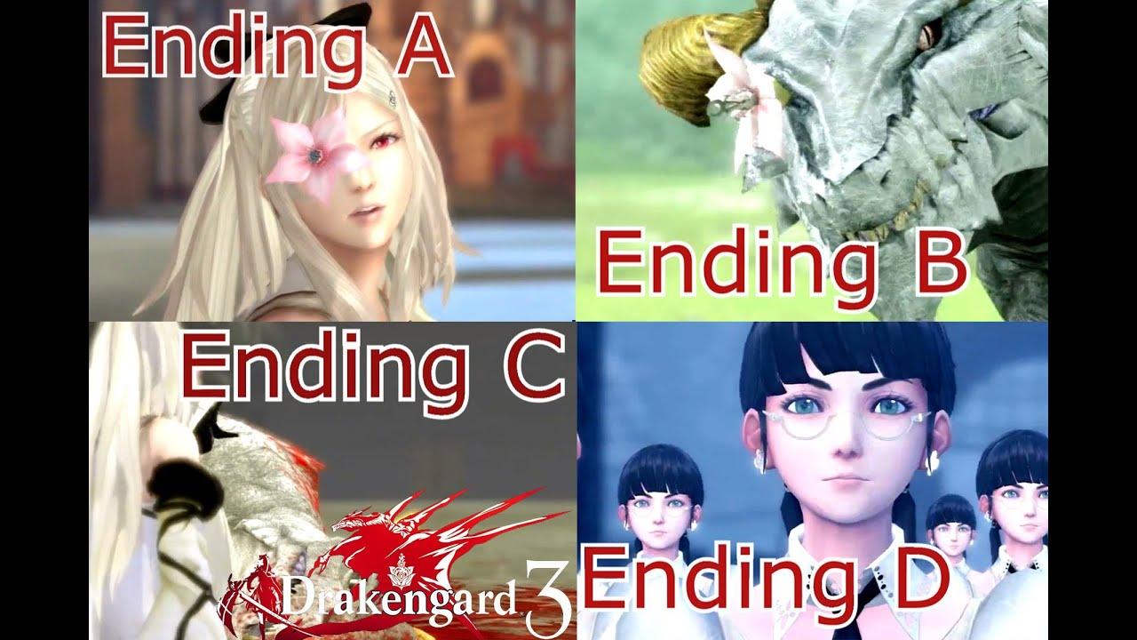 Drakengard 2 Endings Drakengard 3 Quot All Endings Quot