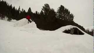 Backflip on skis