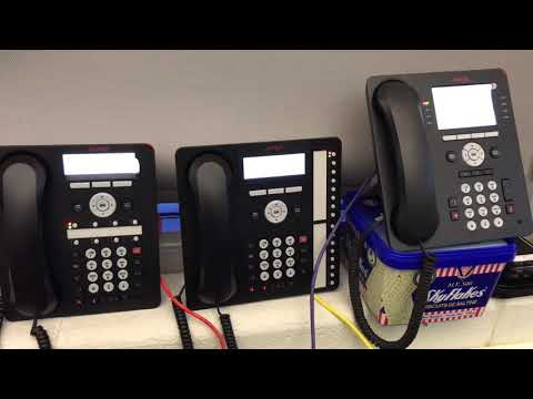 NRC Talking Clock on 3 Avaya phones