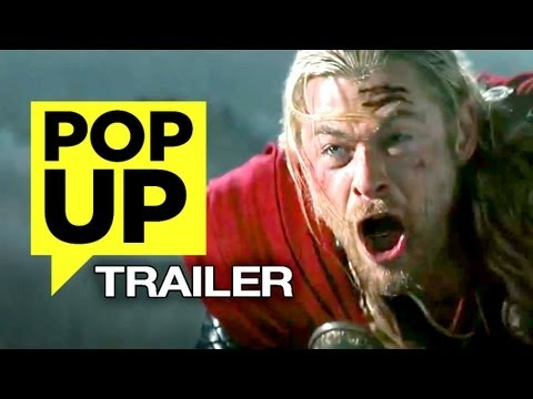 Thor: The Dark World (2013) POP-UP TRAILER - HD Chris Hemsworth, Natalie Portman Movie