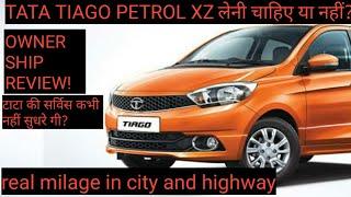 Tata Tiago XZ Review | Hindi | Tata Tiago ownership review | MOTO EXPLORE