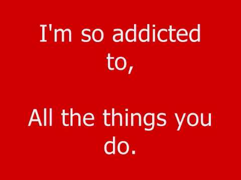 Addicted- Saving Abel Lyrics