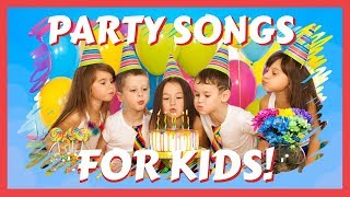 Party Songs for Kids! 1 HOUR of Music for Children! Nursery Rhymes Playlist for Toddles and Babies!