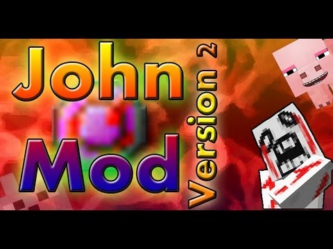 SCMowns - John V2.0 Revived 1.2.5 Minecraft Mod Review and Tutorial ( New Update! )