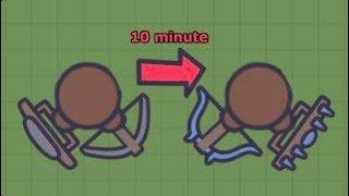 fastest way to get Diamond Bows or shield in MooMoo.io
