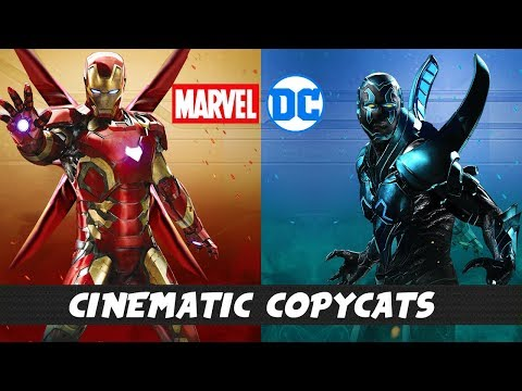 DC and MARVEL Movie & TV Universe Copycats