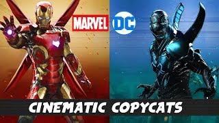 DC and MARVEL Movie & TV Universe Copycats