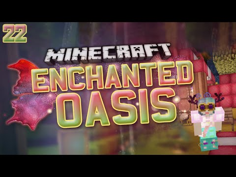 Minecraft: Enchanted Oasis cute Golems? 22 video