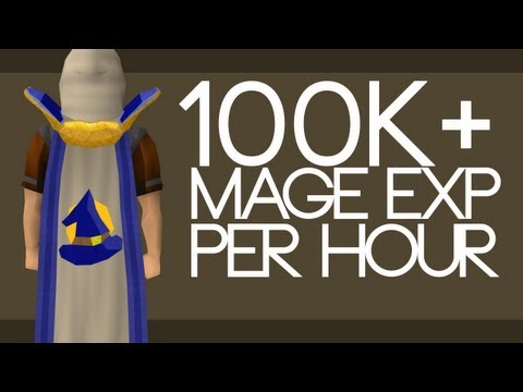 Oldschool Runescape – 100k+ CHEAP Mage Exp PER HOUR! – One Minute Guide
