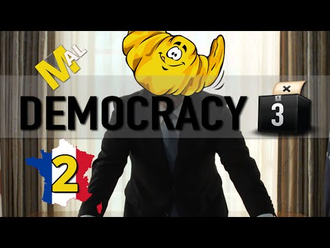 Democracy 3 Let's Play - Part 2 - France With Mal!