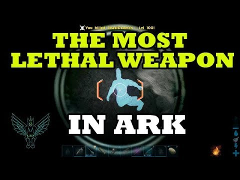Ark: Tek Railgun Tutorial - It's A Game Changer!