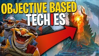 Objective Based Techies - DotA 2