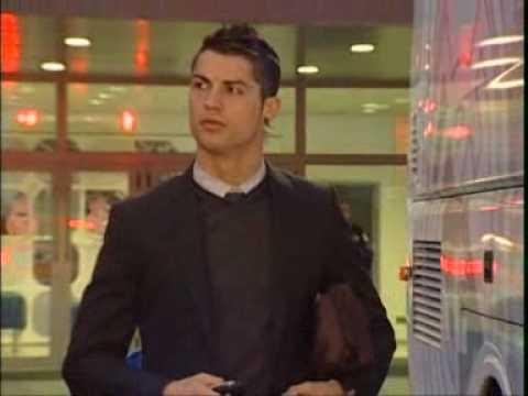 Cristiano Ronaldo & Real Madrid in Tirana(Albania) 20/01/2010