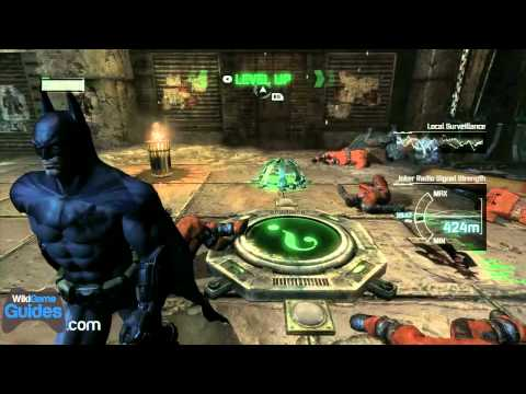 WikiGameGuides First Impressions - Batman Arkham City Gameplay Part 2