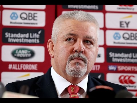 Gatland: 'It's like the first day of school' | British & Irish Lions
