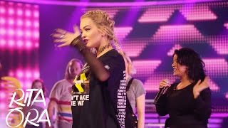 RITA ORA | X Factor rehearsals, Kiss Halloween party & Unicef fundraiser [Dressing Room Diaries]