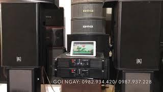 ✅Loa B3-Đẩy Audio Center kết hợp quá Ngọt Ngào trong bộ karaoke gửi A.Yên/Điện Biên