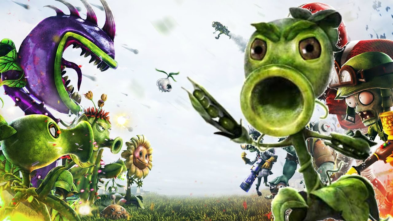 Plants Vs Zombies Garden Warfare Part 1 Iam God Youtube