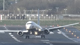 Negative windshear landings