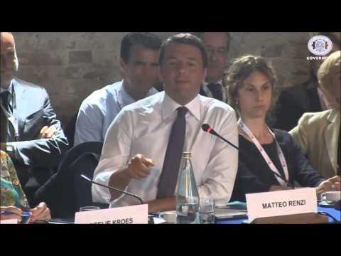 """10 minuti di Matteo Renzi che dice """"Because"""""""