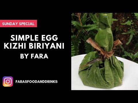Simple Egg Kizhi Biriyani by Fara | Sunday special recipe